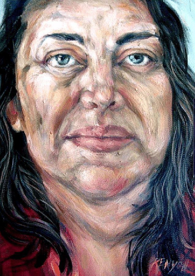 Beautiful Helene. Painting by Estelle Kenyon.