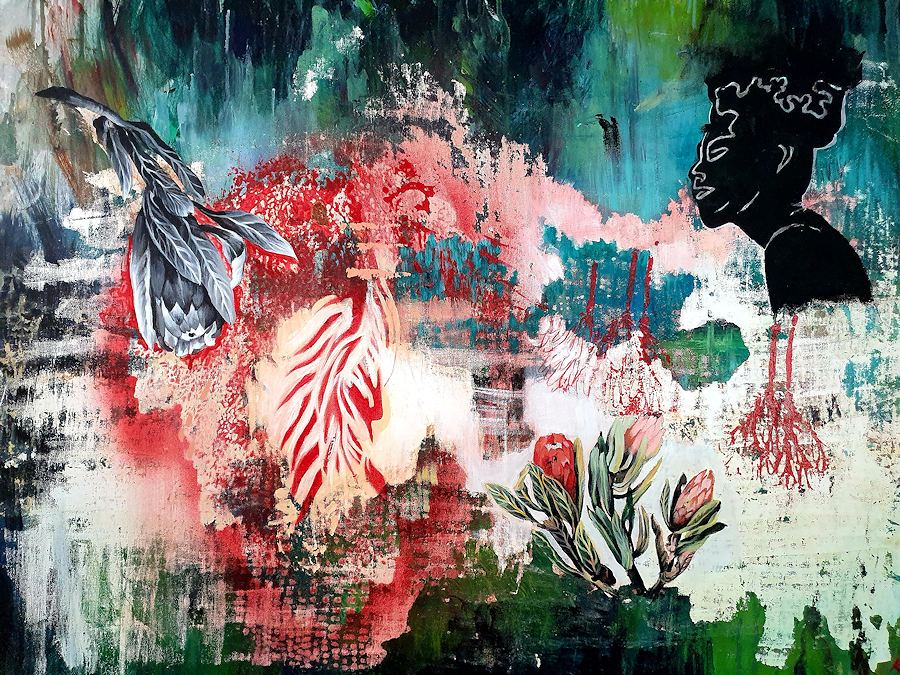 I miss Africa. Painting by Estelle Kenyon