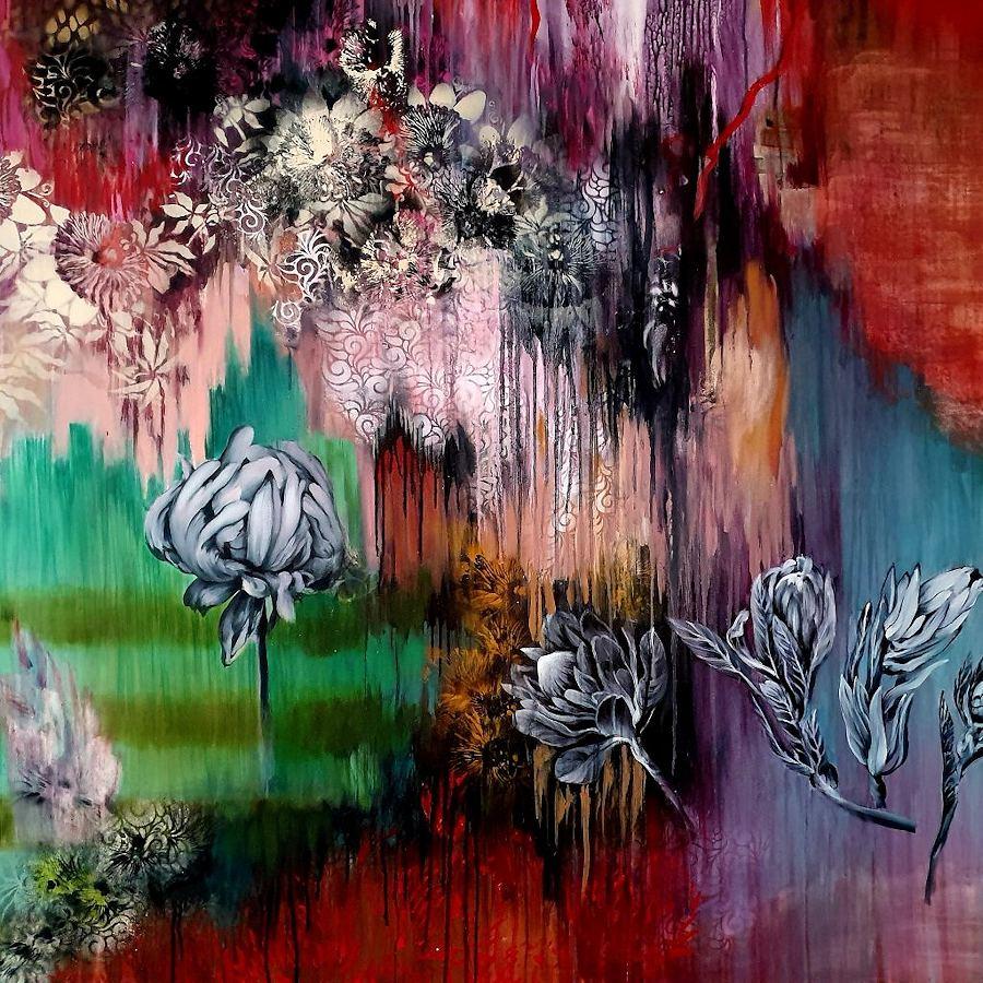Weeping Memories. Painting by Estelle Kenyon